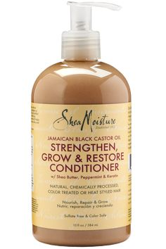 A strengthening conditioner that detangles and restores moisture without weighing hair down. Perfect for those who regularly color, straighten or perm their hair as well as kinky, curly and wavy natur