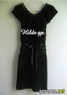 DE MIS MANOS TEJIDOS Y MAS...: vestido a crochet