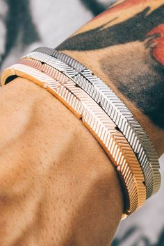 MISTER Jewelry's bracelet is such a statement piece. Quality and comfort!