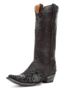 Old Gringo Women's Erin Cowgirl Boot - Black  http://www.countryoutfitter.com/products/38851-womens-erin-boot-black