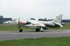 McDonnell AV-8A Harrier 01-806 Spanish Navy 10-06-92