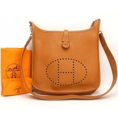573a311a6c1b Hermes Limited Editon Signature Tan Hermes Evelyne 2 II PM BIG