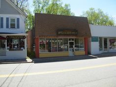 One of several antique shops to spring up, this was the first year round drug store
