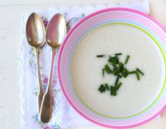 Raw White Gazpacho Soup