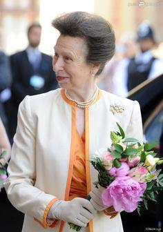 La princesse Anne lors du centenaire de la Fédération nationale des Instituts de Femmes à Londres le 4 juin 2015, au Royal Albert Hall.