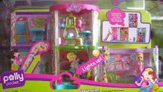Polly Pocket Designables Courtyard Bedroom Playset - Lights Up! (2008) by Mattel, http://www.amazon.com/dp/B002YAP1V2/ref=cm_sw_r_pi_dp_QuEWrb1JKSK18