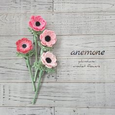 Felt Flowers, Crochet Flowers, Crochet Bouquet, Handmade Flowers, Needlework, Embellishments, Knit Crochet, Crochet Earrings, Crochet Patterns