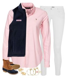 """""""winter wonderland"""" by emmig02 ❤ liked on Polyvore featuring Chan Luu, Vineyard Vines, L.L.Bean, Tory Burch, Kate Spade, Alex and Ani and MYAandAPRIDE"""
