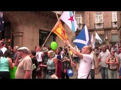 25 de Xullo 2014 - Solidarity with Scotland in Santiago de Compostela