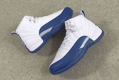 Air Jordan 12 Retro French Blue    Size: 11    These are SOLD OUT everywhere!!!    Sneakers are brand new in the box    100% authentic    Never Worn    They will be double boxed for protection                   Shop this product here: spree.to/ahd3   Shop all of our products at http://spreesy.com/Diva_styles      Pinterest selling powered by Spreesy.com