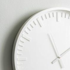 Antique Wall Clocks, White Wall Clocks, Led Wall Clock, Minimalist Wall Clocks, Wall Clock Design, Thing 1, Chip And Joanna Gaines, Gifts For Office, Living Room Modern