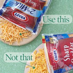 Use Reduced-Fat Cheese, Not Regular Cheese