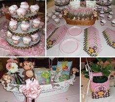 One of our most popular themes, this Hostess Hero used Monkey Girl at her event and it was an absolute delight. Pam, a Facebook Superfan, created an amazing display with Monkey Girl themed personalized items and tableware. She organized a fun sweets table by carefully laying out each Monkey Girl