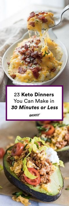 So much butter, so little time. #greatist https://greatist.com/eat/keto-dinner-recipes-to-make-in-30-minutes-or-less