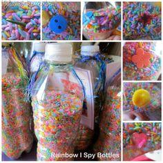 Rainbow I Spy Bottle