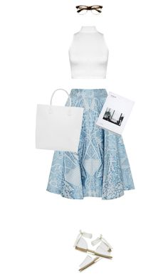 """""""I want ice cream!"""" by payypayy ❤ liked on Polyvore featuring Temperley London, Topshop, WearAll, Creatures of Comfort and vintage"""