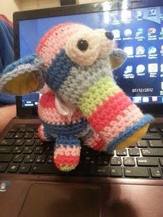 elefante tricolor