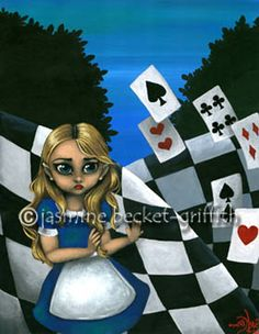 Alice in Wonderland: Alice and the Cards