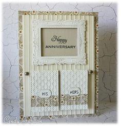 Wedding or anniversary card idea