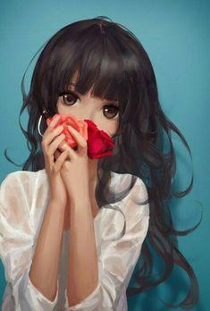 Beautiful Hispanic Anime Girl