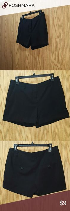 Cute Black Shorts By Forever 21  Excellent condition  Size Large Forever 21 Shorts