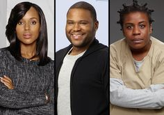 With a half-dozen nods apiece, ABC's Scandal and black-ish, Netflix's Orange Is the New Black and the Lifetime TV-movie The Trip to Bountiful lead the TV nominees for the 46th NAACP Image Awards, w...
