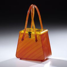 Vintage Lucite Structured Handbag (3/29/2012 - Fine Jewelry and Timepieces)