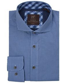 JTW6627-Blue from James Tattersall Clothing
