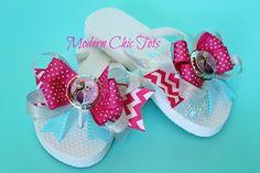 Last day Frozen flip flops are on SALE!