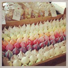 Meringue girls meringues Meringue Girls, Cookie Display, Meringue Pavlova, 50th Cake, Candy Cart, Meringue Cookies, Bakery Cafe, Confectionery, Marshmallows