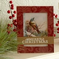 Framed Christmas Cardby Julie  Campbell