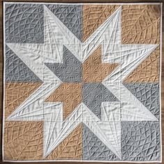 Taupe quilt by Melissa Marginet 2017
