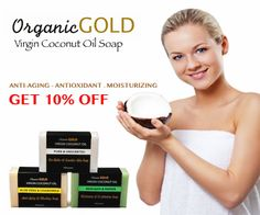 Genuine Organic and Natural Virgin Coconut Oil Soap. Join OrganicGOLD Club to get 10% off http://www.amazon.com/gp/product/B00NOKHI4O