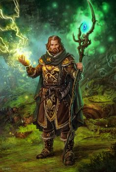 Druid by dleoblack.deviantart.com on @deviantART
