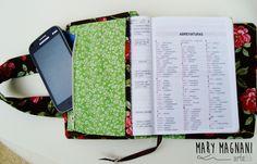 Capa para bíblia com alça. Mary Magnani Arteliê