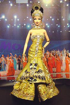OOAK Barbie NiniMomo's Miss Egypt 2007/2008