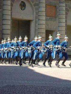 Royal Guards in Stockholm, Sweden - IgoUgo Swedish Symbols, European Vacation Packages, The Swede, Swedish Girls, Honor Guard, Royal Guard, Midnight Sun, Gothenburg, Stockholm Sweden