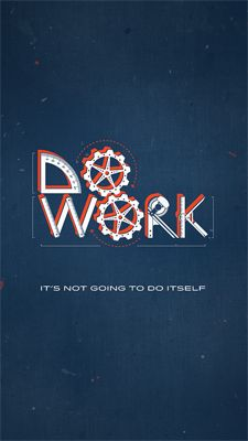 Do Work – Poster | seanwes hand lettering | Sean McCabe