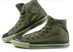 army green converse