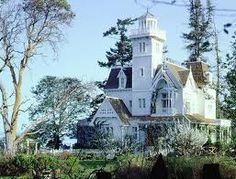 """This is the house from the movie, """"Practical Magic""""."""