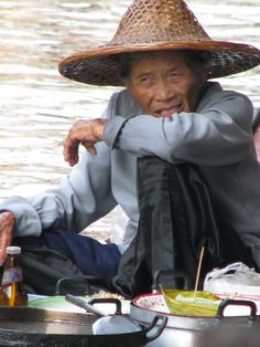 Thai man of the water