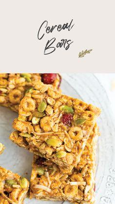 Healthy Treats, Healthy Eating, Good Healthy Snacks, Healthy Cookies, Vegan Treats, Breakfast Recipes, Snack Recipes, Cooking Recipes, Breakfast Bars