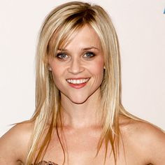 Reese Witherspoon: Heart-Shaped Face Ask for layered, feathered bangs. The shortest pieces should hit the arch of your eyebrows; the longest should meet the outer corners of your eyes. Haircuts For Medium Hair, Blonde Haircuts, Hairstyles With Bangs, Celebrity Hairstyles, How To Cut Bangs, Long Hair With Bangs, Heart Shaped Face Hairstyles, Feathered Bangs, Perfect Bangs