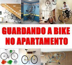 Seu prédio não possui bicicletário? Você não tem coragem de deixar sua bike nele? Você tem problemas pra guardar sua(s)