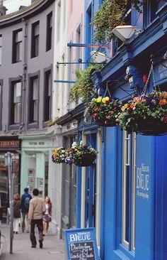 Victoria Street, Edinburgh, Scotland. Loved it! I will live here someday