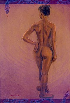 Eve. Papper on pastel. 2004.