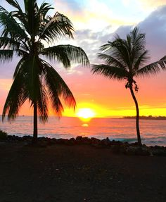 Absolutely nothing beats a Hawaiian sunset. Breathtaking.