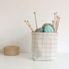 storage basket collection Knit Basket, Storage Baskets, Textile Design, Textiles, Knitting, Mini, Christmas, Collection, Xmas