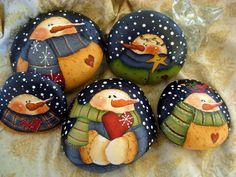 Kavicsfestés karácsonykor is! - Színes Ötletek