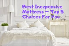 It's not about spending big but about selecting the Best Mattress for the Money. Your money should be invested in the most comfortable one. Mattress World, Air Mattress, Best Mattress, Foam Mattress, Affordable Mattress, Sleeping Alone, Water Bed, Comfort Mattress, Cool Beds